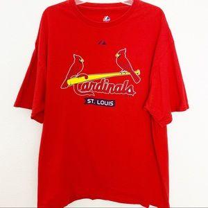 Majestic Mens St. Louis Cardinals T-shirt
